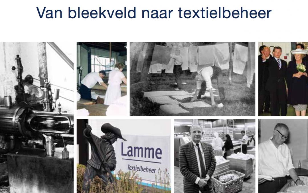 Jubileumboek Lamme Textielbeheer
