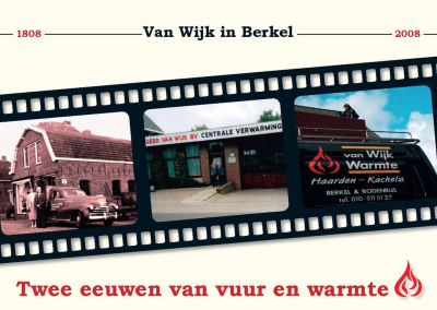 Jubileumboek Van Wijk Warmte