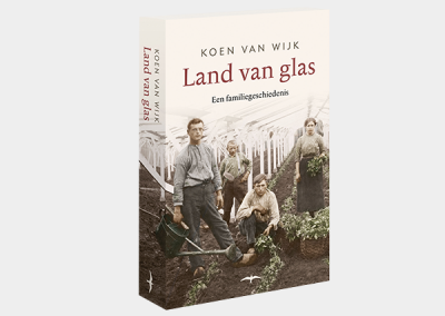 Boek 'Land van Glas'